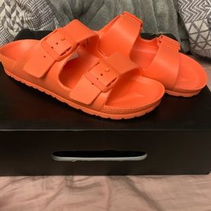 Never worn Peach sandals